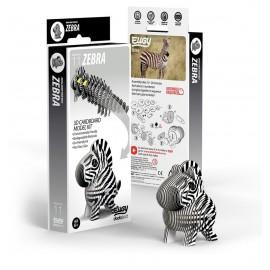 Kartonnen 3D Puzzel Zebra