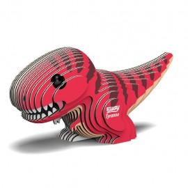 Kartonnen 3D Puzzel Tyrannosaurus