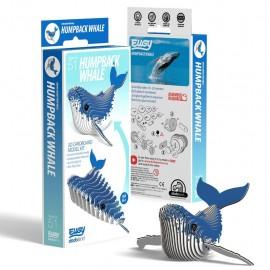 Kartonnen 3D Puzzel Bultrug Walvis