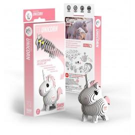Kartonnen 3D Puzzel Eenhoorn
