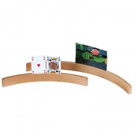 Kaarthouder hout 50cm