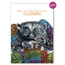 Knitting rainbows
