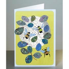 Bumblebees Laser Cut Cards