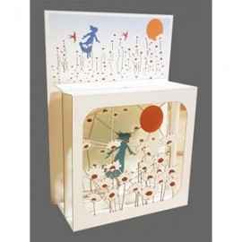 Magic Box Card Field of Daisies