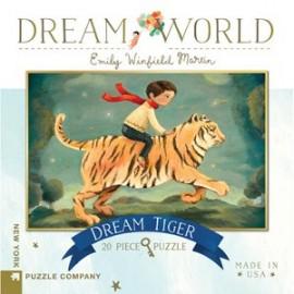 Mini Puzzel Dream Tiger 20st.