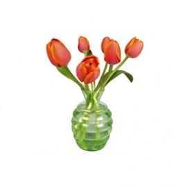 Raamstickers Tulpen oranje