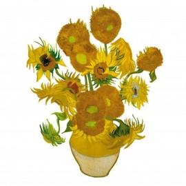 Flat Flowers Greetings van Gogh Zonnebloemen