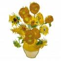 Flat Flowers Greetings van Gogh Zonddebloemen
