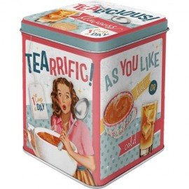 Retro Blik Tea Licious