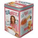 Retro Blik Tea Licious