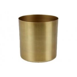Cordo pot metaal mat goud H7,5