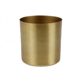 Cordo pot metaal mat goud H9,5