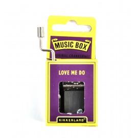 Music Box Love me do