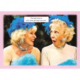 Fotokaart Show Girls