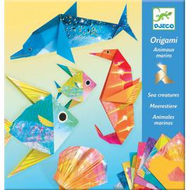 Djeco Knutselpakket Origami Zeedieren