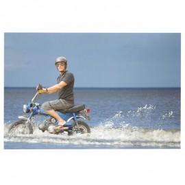 Fotokaart Man on Bike