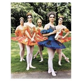 Fotokaart Men - Ballet