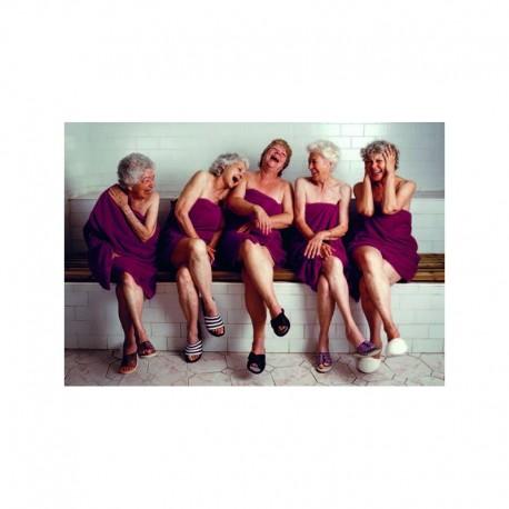 Fotokaart Women in Sauna