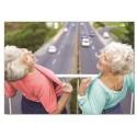Fotokaart Flashing Old Ladies