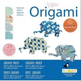 Funny Origami Olifant