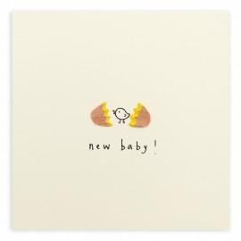 Dubbele kaart New Baby Egg