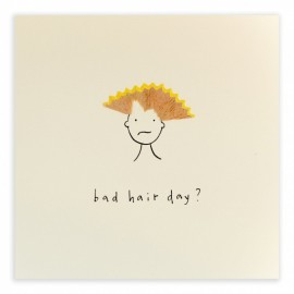 Dubbele kaart Bad Hair Day