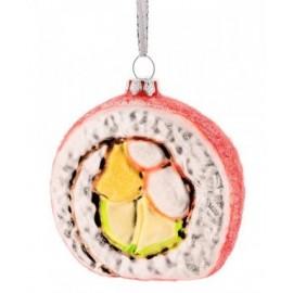 Kerstbal Calafornian Roll Sushi