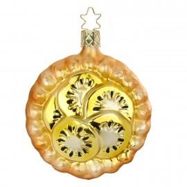 Kerstbal Vruchtenschelp Kiwi