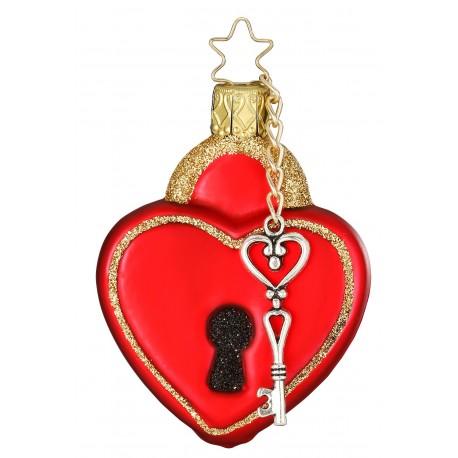 Kerstbal Sleutel van mijn Hart