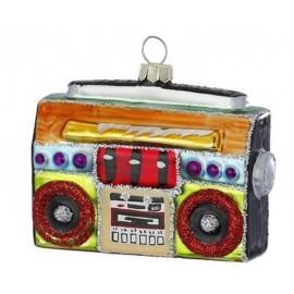Kerstbal Retro Radio Cassette Recorder