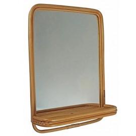 Wand Spiegel  Rotan
