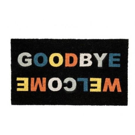 Deurmat Welcome Goodbey