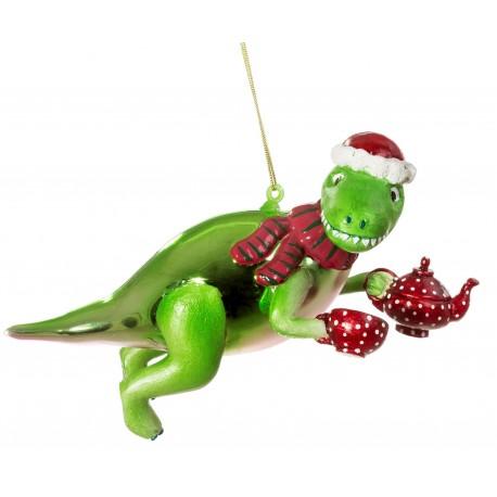 Kerstbal Thee Rex