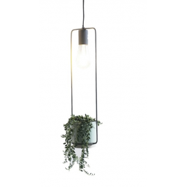 Cult lamp met pot eno wit H.13