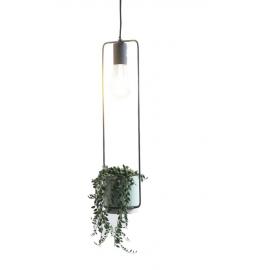 Cult lamp met pot eno wit H.13