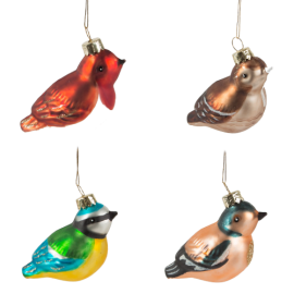 Set van 4 Mini Vogels