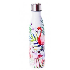 Flas'i Waterfles 500 ml Flamingo