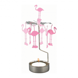 Angel Chimes Flamingo