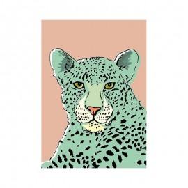 Ansichtkaart Leopard