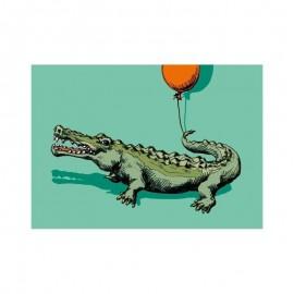 Ansichtkaart Crocodile