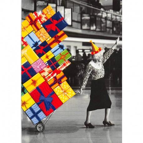 Fotokaart Bday Fun Grannie