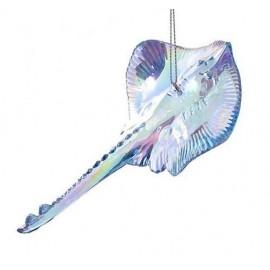 Kersthanger Stingray Blauw