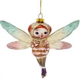 Kerstbal Sprookjes Libelle