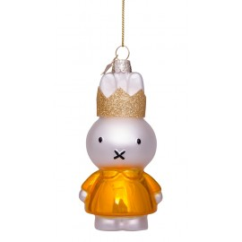 Kerstbal Nijntje met Kroon