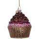 Kerstbal Chocolade Cupcake