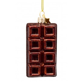 Kerstbal Chocolade Reep