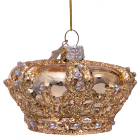 Kerstbal Gouden Kroon