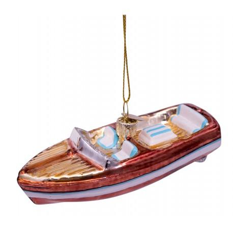 Kerstbal Speedboot