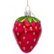 Kerstbal Aardbei Rood