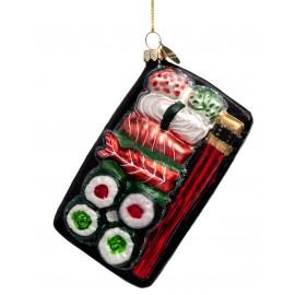 Kerstbal Sushi Maaltijd